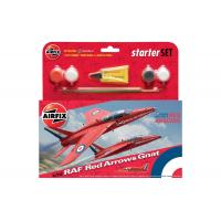 Airfix - A55105 RAF Red Arrows Gnat Starter Set (1:72)