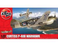 Airfix - A01003B - Curtiss P-40B Warhawk (1:72 Scale)