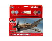 Airfix - A55101 Curtiss Tomahawk IIB Starter Set (1:72)