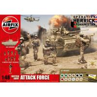British Army Attack Force (1:48)