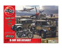 Airfix - A50157A - 75th Anniversary D-Day Air Assault Set (1:72 Scale)