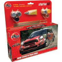Mini Countryman WRC Starter Set (1:32)