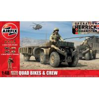 British Forces Quadbikes & Crew (1:48)