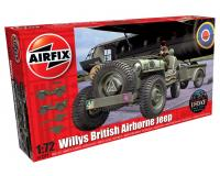Airfix - A02339 Willys British Airborne Jeep (1:72)