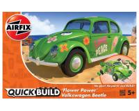 Airfix Quickbuild - J6031 - Flower Power VW Beetle - Green