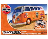 Airfix Quickbuild - J6032 - Surfin VW Camper Orange and White