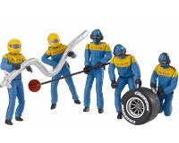 Carrera - CA21132 - Set of Figures Mechanics Blue (1:32 Scale)