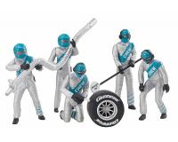 Carrera - CA21133 - Set of Figures Mechanics Silver (1:32 Scale)