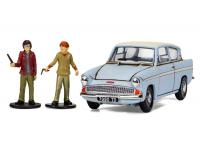 Corgi - CC99725 - Harry Potter Mr Weasleys Enchanted Ford Anglia w/Harry and Ron Figures (1:48 Scale)