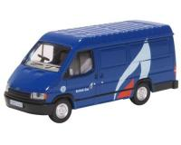Oxford Diecast - 76FT3008 - Ford Transit Mk3 British Gas (1:76)