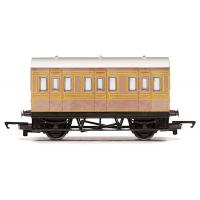 Hornby - R4674 - RailRoad LNER 4 Wheel Coach - Era 3
