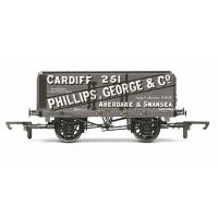Hornby - R6813 - 7 Plank Wagon 'Phillips, George & Co'