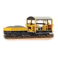 Bachmann Branchline - 32-993 Wickham Type 27 Trolley Car BR Engineers Yellow Wasp Stripes