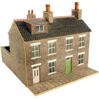 PN104 N Scale Stone Built Terraced Houses