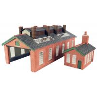 PN113 N Scale Engine Shed