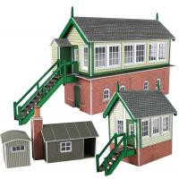 PN133 N Scale Signal Box Set
