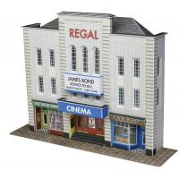 PN170 N Scale Low Relief Cinema
