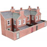 PN176 N Scale Low Relief Terraced House Backs