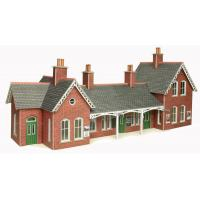 PO237 OO/HO Scale Terrace Shop Front (Stone)