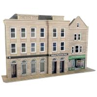 Metcalfe - PO271 - OO/HO Scale Bank and Shop
