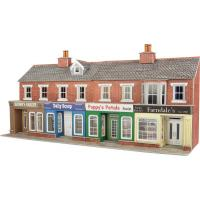 Metcalfe - PO272 - OO/HO Scale Terrace Shop Front (Brick)