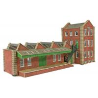 PO283 OO/HO Scale Small Factory