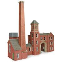PO284 OO/HO Scale Factory Entrance and Boilerhouse