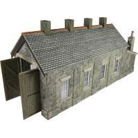Engine Shed Stone Brick Single Track