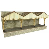 Metcalfe - PO341 - OO/HO Scale Wall Backed Platform Canopy
