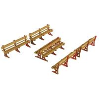 Metcalfe - PO502 - OO/HO Scale Platform Benches