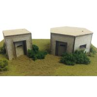 Metcalfe - PO520 - OO/HO Scale Pillboxes Card Kit