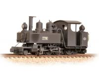 Bachmann Narrow Gauge - 391-025 Baldwin Class 10-12-D 778 WW1 ROD Black Weathered