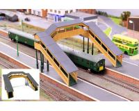 Gaugemaster Stuctures - GM403 - Ford Hampton Footbridge (00 Gauge)