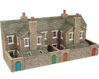 Metcalfe - PO277 - OO/HO Scale Low Relief Stone Terrace House Back