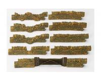 Hornby - R8540 - Cotswold Stone Wall (Wall Pack No.2) 00 Scale