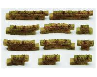 Hornby - R8541 - Cotswold Stone Wall (Wall Pack No.3) 00 Scale