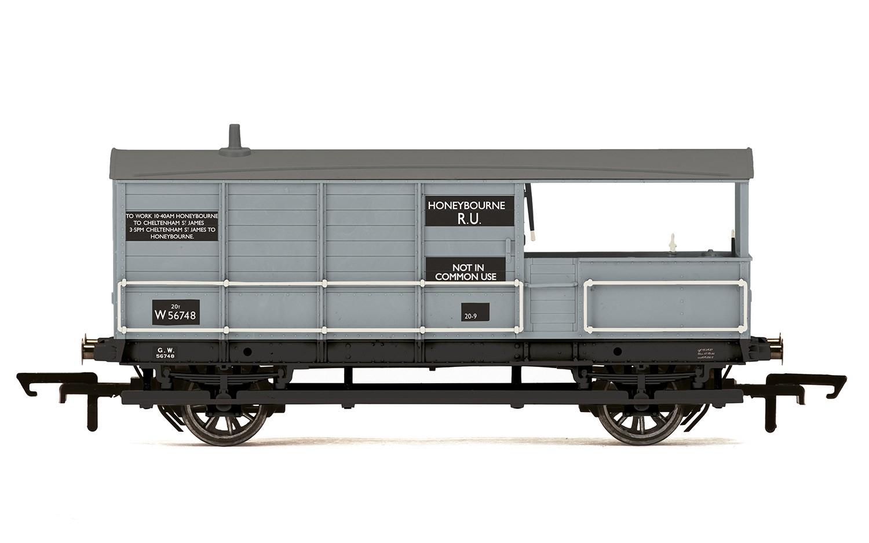 Era 3//4//5 OO Gauge Hornby R6925TTS Vent Van with Sound