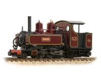 Bachmann Narrow Gauge - 391-027 - Baldwin Class 10-12-D 'Peggy' Ashover Crimson