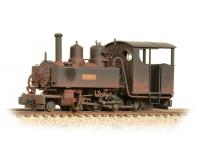 Bachmann Narrow Gauge - 391-028 - Baldwin Class 10-12-D 'Hummy' Ashover Black Weathered