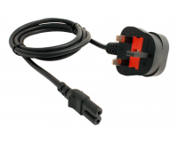 DCC Concepts - DCP- PSUK - UK Mains Lead for PSU-2 or CDU-2 (Standards Approved)
