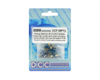 DCC Concepts - DCF-WP12 - Pickups & Springs, 12 x Gold Plated P-Bronze Wiper Sets