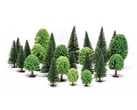 Hornby - R7201 - Skale Scenics Hobby' Assorted Mixed (Deciduous & Fir) Trees