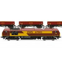 Hornby - R3399 EWS FREIGHT TRAIN PACK (LIMITED EDITION)