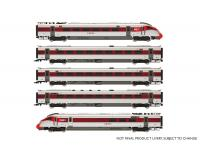 Hornby - R3762 LNER, Hitachi IEP Bi-Mode Class 800/1, 'Azuma' Five Car Train Pack - Era 11