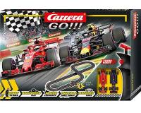 Carrera GO - CA62483 - Race to Win - Ferrari v RED BULL (1:43 Scale)