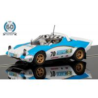 Scalextric - C3827A - Scalextric 60th Anniversary Collection - 1970s, Lancia Stratos L