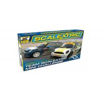 Team Scalextric MINI Challenge - Mini Coopers, No.5 No.15