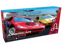 Scalextric - G1098 - Micro Scalextric American Racers (Red No.6 v Yellow No.17)