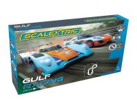 Scalextric - C1384 - Gulf Racing Set - Gulf LMP vs GT Gulf