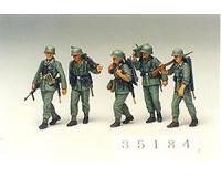 Tamiya - 35184 - German Machine Gun Crew (1:35 Scale)